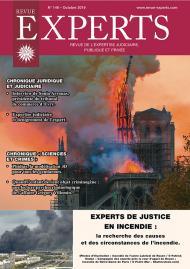 Experts de justice en incendie : la recherche des causes et des circonstances de l'incendie