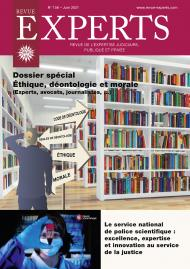Dossier spécial : Éthique, déontologie et morale (Experts, avocats, journalistes, ...)